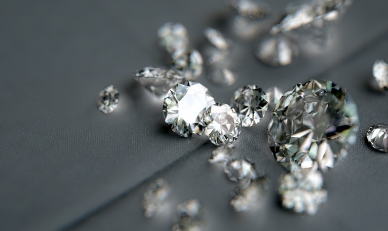 Pile Of Diamonds